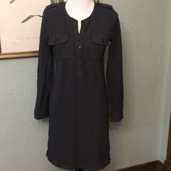 J. Crew Dresses & Skirts - EUC J. Crew Dress, Charcoal, size S